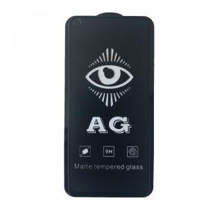 Матовое защитное стекло 3D (5D) Perfect AG для Realme 6 – Black