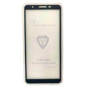 Защитное стекло 3D (5D) Tempered Glass Full Glue Cover на весь экран для Samsung Galaxy A01 Core – Black