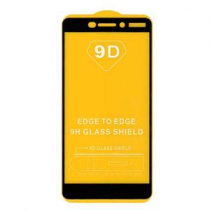Защитное стекло 9D Full Glue Cover Glass на весь экран для Nokia 6.1 – Black