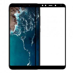 Защитное стекло 3D (5D) Perfect Glass Full Glue Ipaky на весь экран для Xiaomi Mi 6x / Mi A2 – Black