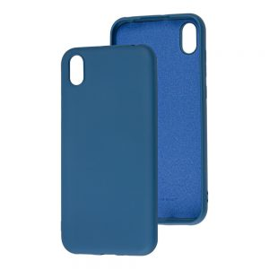 Чехол WAVE Colorful Case с микрофиброй для Huawei Y5 2019 / Honor 8s – Blue