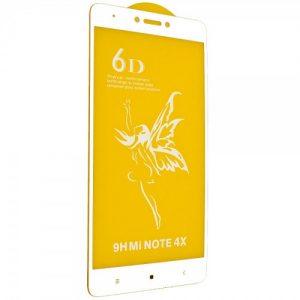 Защитное стекло 6D Premium для Xiaomi Redmi Note 4 / 4x (Snapdragon) – White