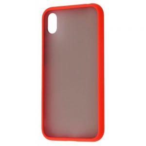 Чехол TPU Matte Color Case для Huawei Y5 2019 / Honor 8s – Red