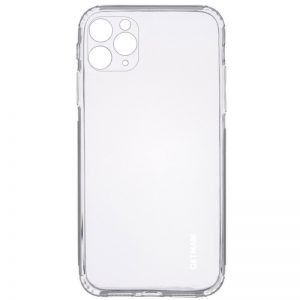 Прозрачный силиконовый TPU чехол GETMAN для Iphone 11 Pro Max
