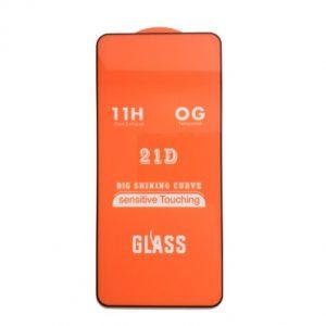 Защитное стекло 21D Full Glue Cover Glass на весь экран для Huawei Honor 20 / 20 Pro / Nova 5T — Black