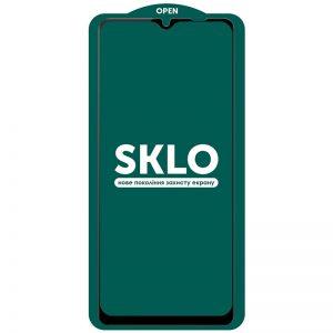 Защитное стекло 3D (5D) Perfect Glass Full Glue SKLO на весь экран для Samsung Galaxy A12 / A32 5G – Black