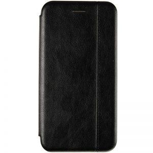 Кожаный чехол-книжка Leather Gelius для Huawei Y5 / Y5 Prime 2018 / Honor 7A – Black