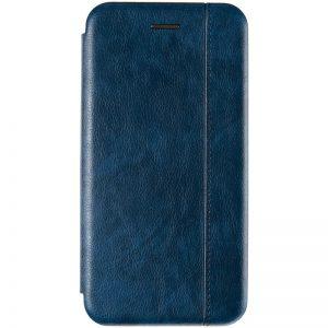 Кожаный чехол-книжка Leather Gelius для Huawei Y5 / Y5 Prime 2018 / Honor 7A – Blue