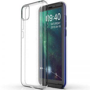 Прозрачный силиконовый TPU чехол для Huawei Y5P / Honor 9S