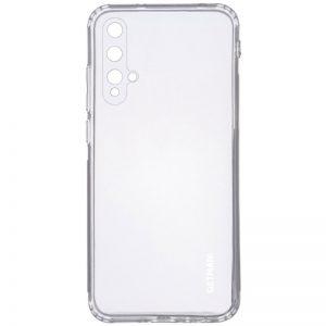Прозрачный силиконовый TPU чехол GETMAN для Huawei Honor 20 / Nova 5T