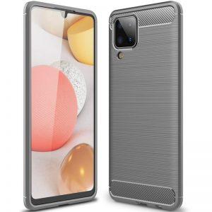 Cиликоновый TPU чехол Slim Series для Samsung Galaxy A12 – Серый
