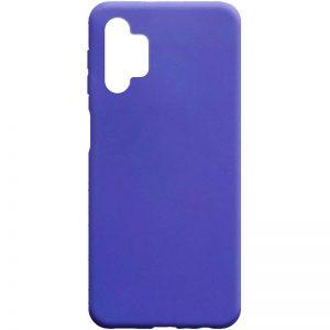 Матовый силиконовый TPU чехол для Samsung Galaxy A32 5G – Сиреневый