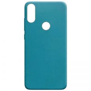 Матовый силиконовый TPU чехол на Huawei P Smart Plus / Nova 3i – Синий / Powder Blue