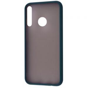 Чехол TPU Matte Color Case для Huawei P40 Lite E / Y7P (2020) – Green
