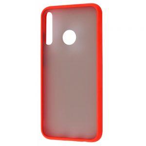 Чехол TPU Matte Color Case для Huawei P40 Lite E / Y7P (2020) – Red