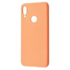Чехол WAVE Colorful Case с микрофиброй для Huawei P Smart Z / Honor 9x – Peach