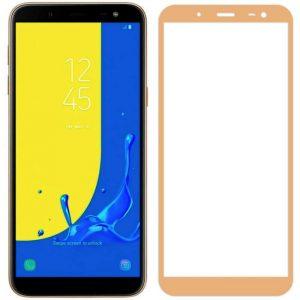Защитное стекло 3D (5D) Perfect Glass Full Glue Ipaky на весь экран для Samsung Galaxy J6 2018 (J600) – Gold