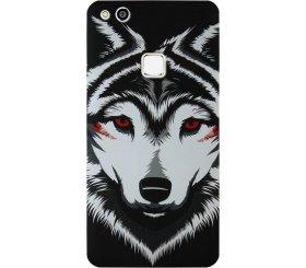 Силиконовый чехол Inavi Gallery Huawei P10 Lite – Lone Wolf