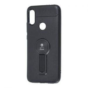 Cиликоновый чехол iFace popsoket под магнитный держатель с кольцом для Samsung Galaxy A10s 2019 (A107) – Black