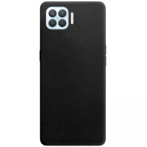 Матовый силиконовый TPU чехол для Oppo A73 – Черный