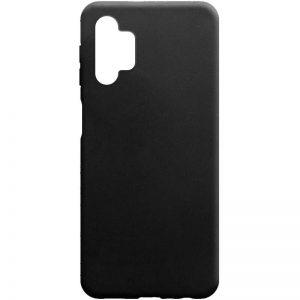 Матовый силиконовый TPU чехол для Samsung Galaxy A32 5G – Черный