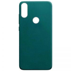 Матовый силиконовый TPU чехол на Huawei P Smart Plus / Nova 3i – Зеленый / Forest green