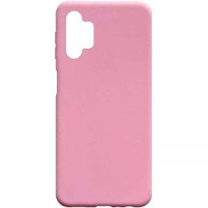 Матовый силиконовый TPU чехол для Samsung Galaxy A32 5G – Розовый