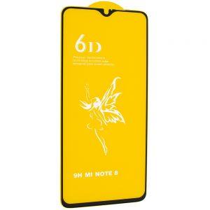 Защитное стекло 6D Premium для Xiaomi Redmi Note 8 – Black