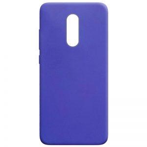 Матовый силиконовый TPU чехол для Xiaomi Redmi 5 Plus – Сиреневый
