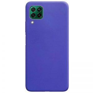 Матовый силиконовый TPU чехол для Huawei P40 Lite – Сиреневый