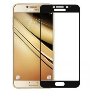 Защитное стекло 3D (5D) Perfect Glass HD+ на весь экран для Samsung Galaxy J5 2017 (J530) — Black