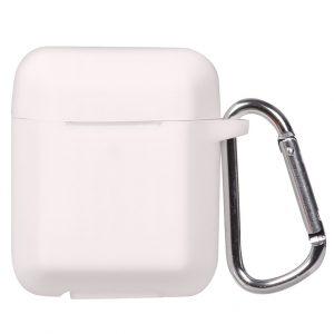 Чехол для наушников Plain Ling Angle Case для Apple Airpods – White