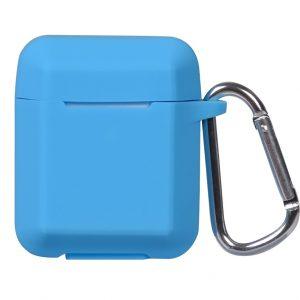Чехол для наушников Plain Ling Angle Case для Apple Airpods – Sky Blue