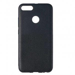 Чехол Epik leather series для  Huawei P Smart – Черный