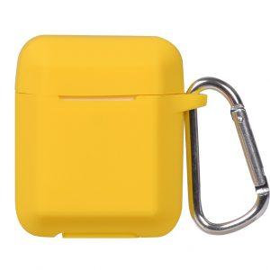 Чехол для наушников Plain Ling Angle Case для Apple Airpods – Yellow