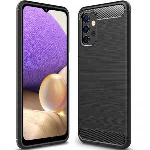 Cиликоновый TPU чехол Slim Series для Samsung Galaxy A32 – Черный