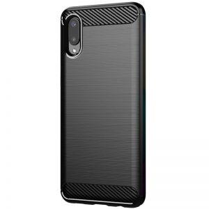 Cиликоновый TPU чехол Slim Series для Samsung Galaxy A02 – Черный
