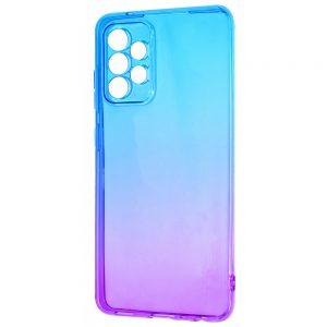 Чехол TPU Gradient Design для Samsung Galaxy A72 – Blue / purple