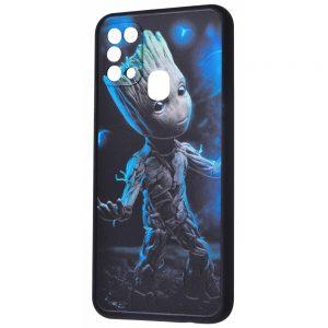 Чехол TPU+PC Game Heroes Case для Samsung Galaxy M31 – Groot