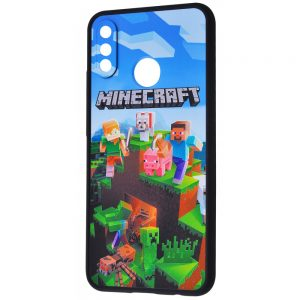 Чехол TPU+PC Game Heroes Case для Huawei P Smart Plus / Nova 3i – Minecraft