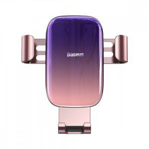 Автомобильный держатель Baseus Glaze Gravity Car Mount – Pink