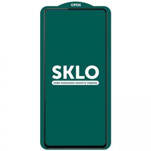 Защитное стекло 3D (5D) Perfect Glass Full Glue SKLO на весь экран для Samsung Galaxy A72 – Black
