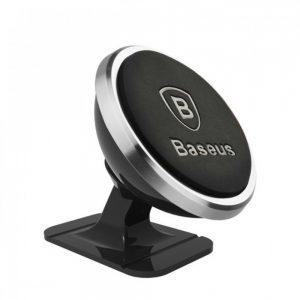 Автомобильный держатель Baseus 360 Degree Rotation Magnetic Mount Paste – Silver