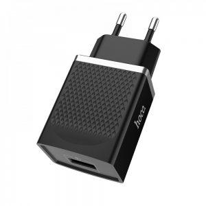 Сетевое зарядное устройство Hoco C42A Qualcomm Quick Charge 3.0 1 USB – Black