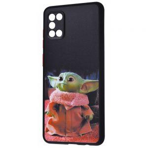 Чехол TPU+PC Game Heroes Case для Samsung Galaxy A31 – Yoda