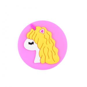 Держатель для телефона Cartoon Soft Series – Unicorn yellow