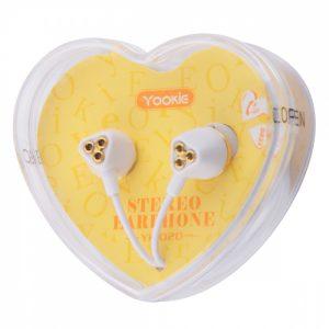 Наушники Yookie YK1020 – Golden