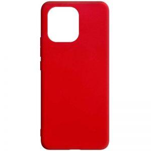 Матовый силиконовый TPU чехол для Xiaomi Mi 11 – Красный