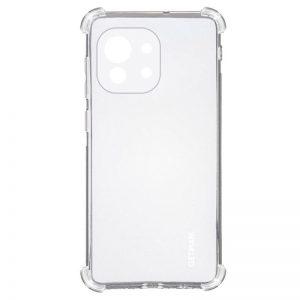 Чехол TPU GETMAN Ease с усиленными углами для Xiaomi Mi 11 – Clear