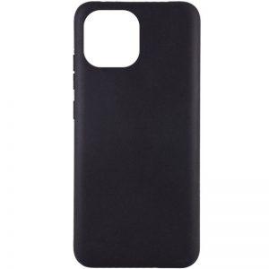 Матовый силиконовый TPU чехол для Xiaomi Mi 11 – Черный